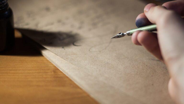 Writing open letter